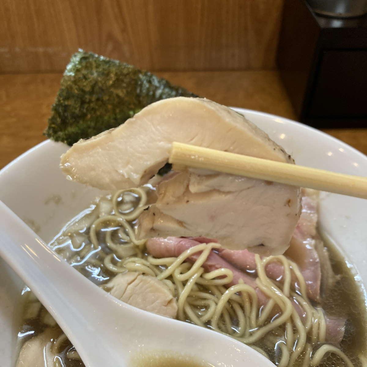 中華そば児ノ木鶏チャーシュー
