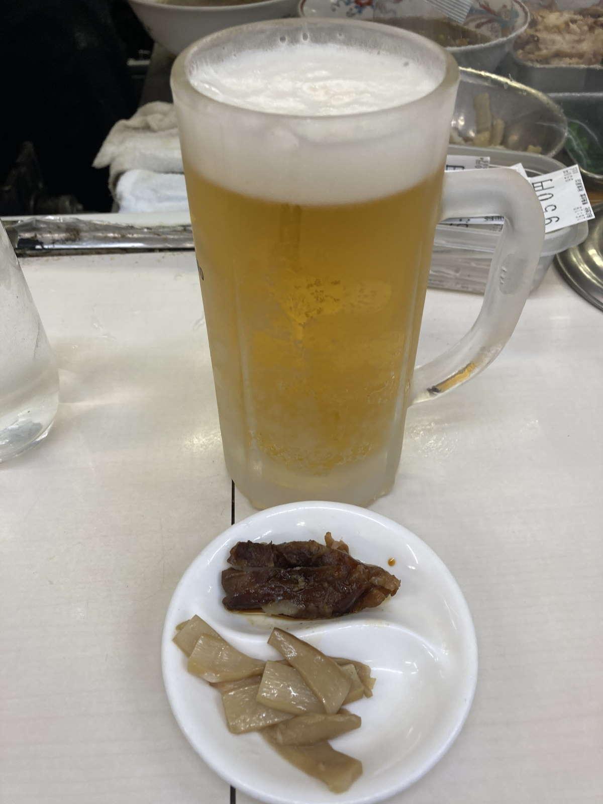 青島食堂ビール中