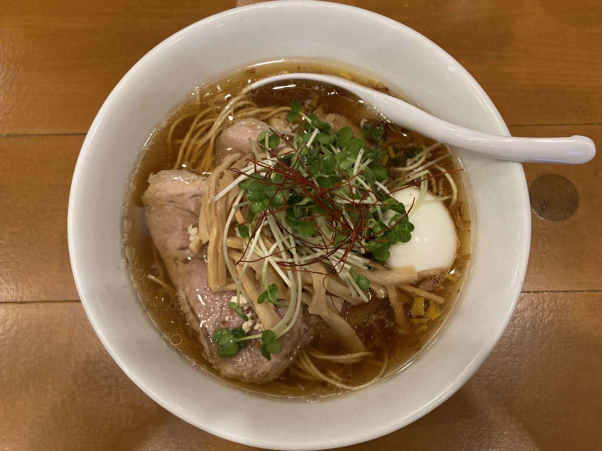 麺屋Hulu-lu醤油SOBA得トッピング