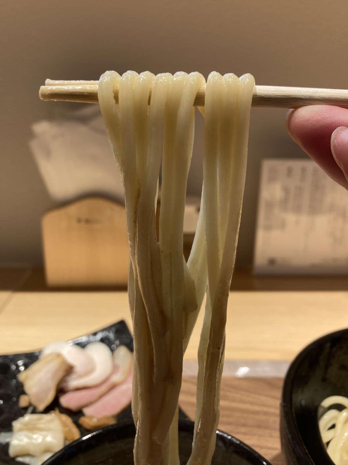 麺屋周郷麺上げ