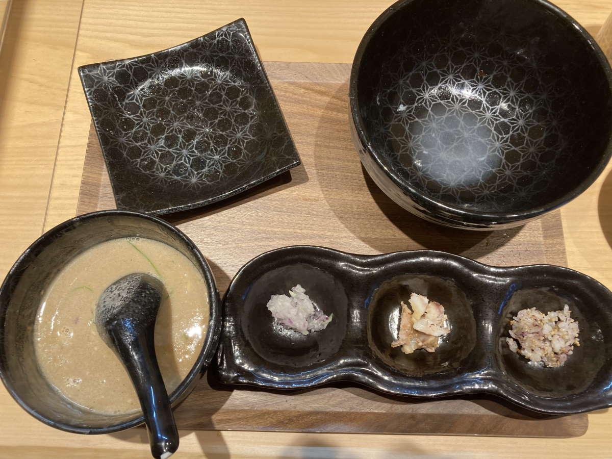 麺屋周郷締めの割スープ