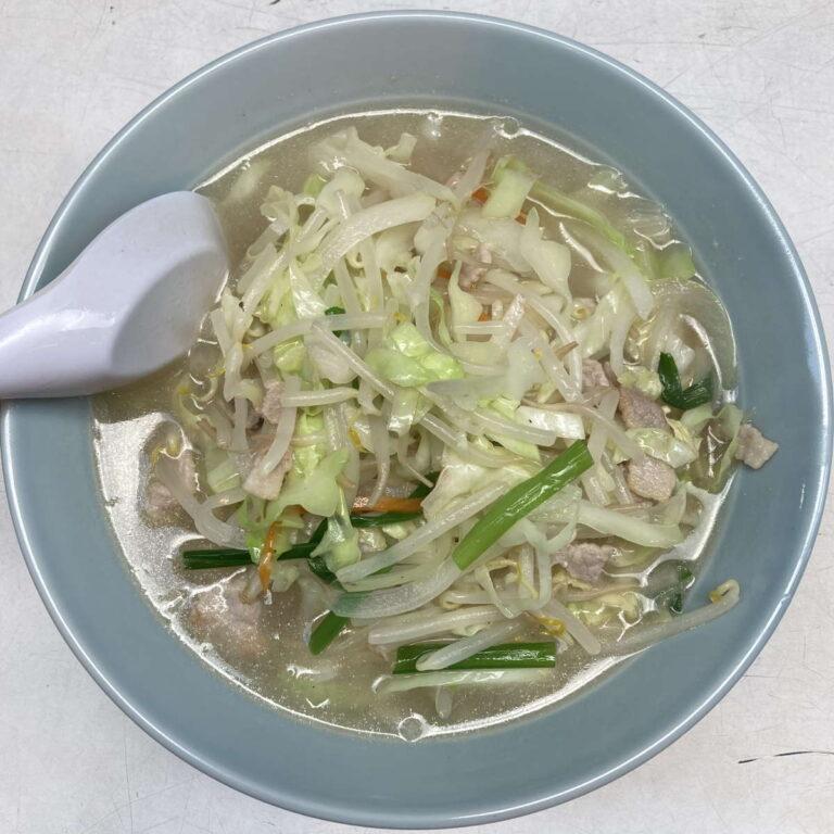珍々軒湯麺